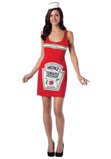 déguisement bouteille ketchup
