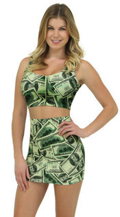 déguisement dollar sexy