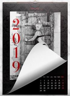 calendrier libertine éditions 2019