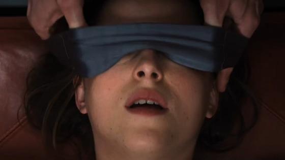 anastasia steele yeux bandés