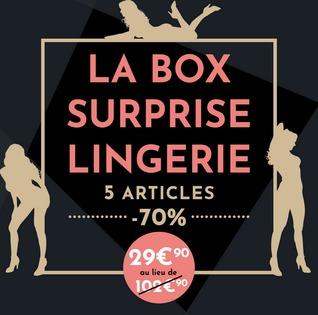 box surprise lingerie