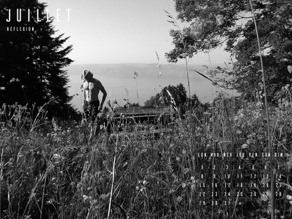calendrier homme sexy juillet