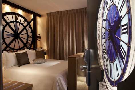 Hôtel Design Hotel Secret de Paris chambre