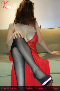 kmille robe rouge