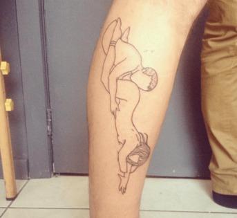 tatouage érotique Capitaine plum Bruxelles
