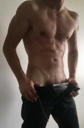 Je montre mes muscles
