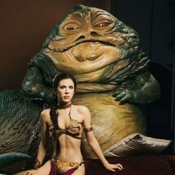 Jeu coquin : the slave princess - star wars